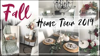FALL DECOR HOME TOUR 2019 | NEW Fall Decorating Ideas | Non Traditional | Momma From Scratch