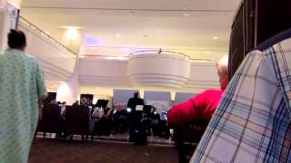 Houston Brass Band playing the Radetzky March at The Methodist Hospital's Crain garden