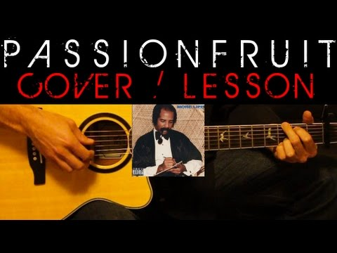 PASSIONFRUIT - Drake Cover 🎸 MORE LIFE Easy Acoustic Guitar Tutorial / Lesson + Lyrics Chords