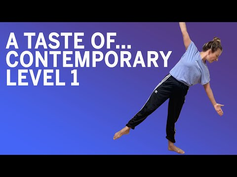 Online Dance Class | A Taste Of... Contemporary Level 1 with Laura Gibson (2020)