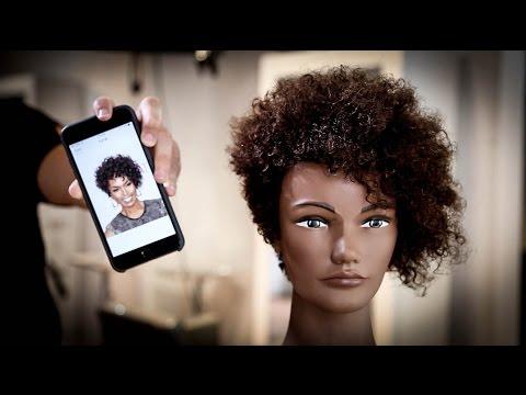 Curly Short Asymmetrical Haircut Tutorial Matt Beck Vlog 71 Youtube