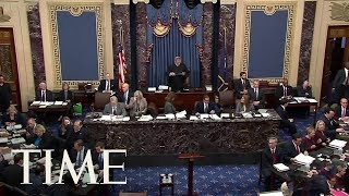 Chief Justice Reads Impeachment Rules To Senate | TIME