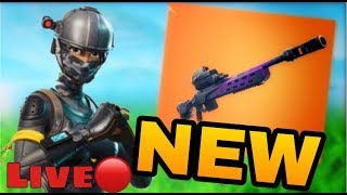 Fortnite/THE NEW SNIPER È UN TROP CHEAT !!!!!