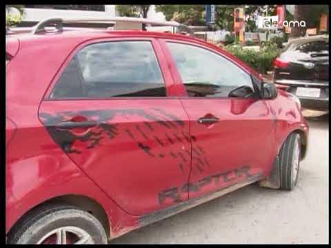 Atentan contra ciudadano que se movilizaba con sus hijos en taxi informal