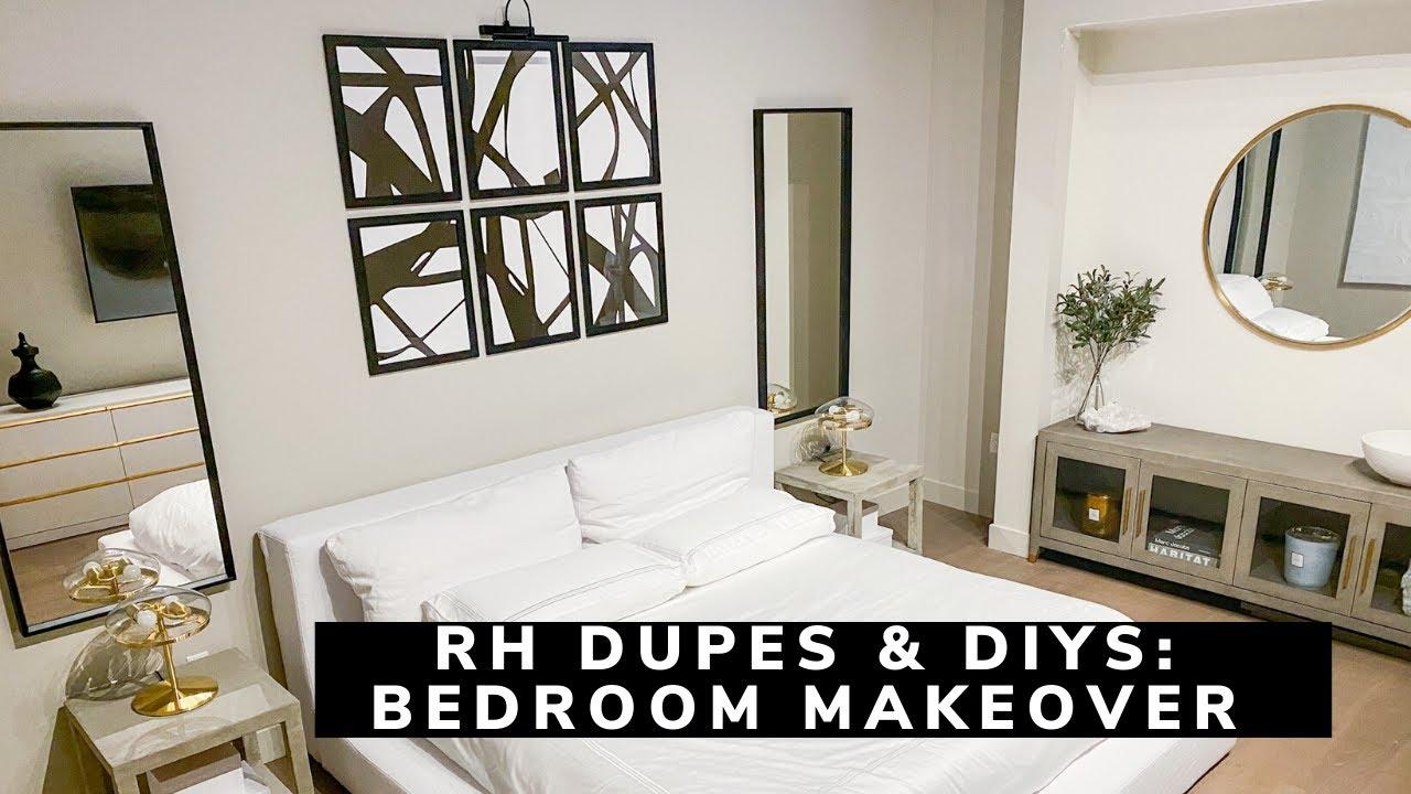 Living Room Transformation Restoration Hardware Dupes Youtube