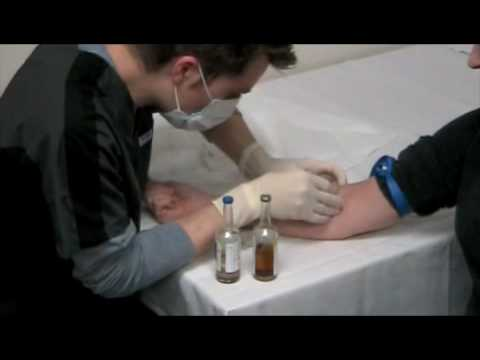 how to take blood culture sample