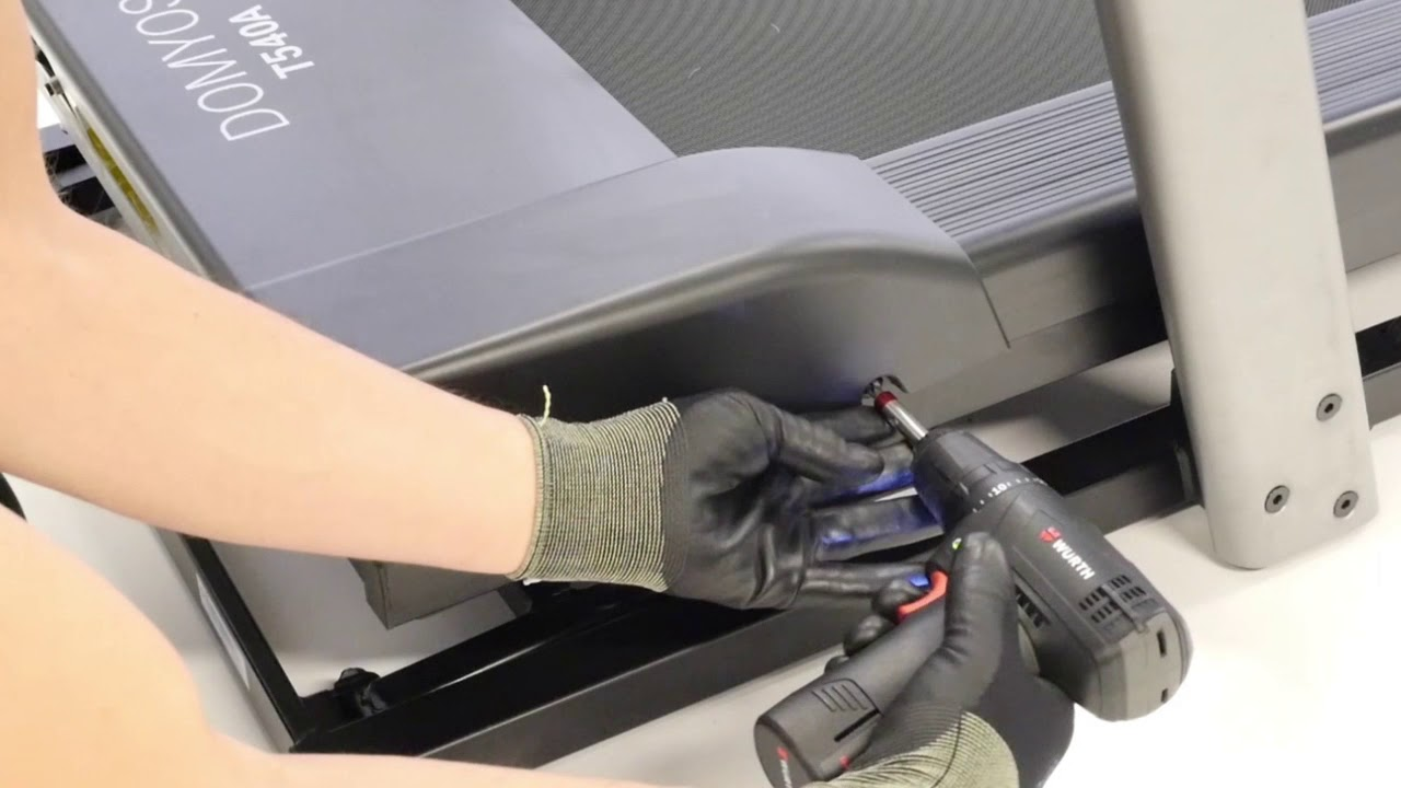 comment changer le connecteur d alimentation sur un tapis de course t540a