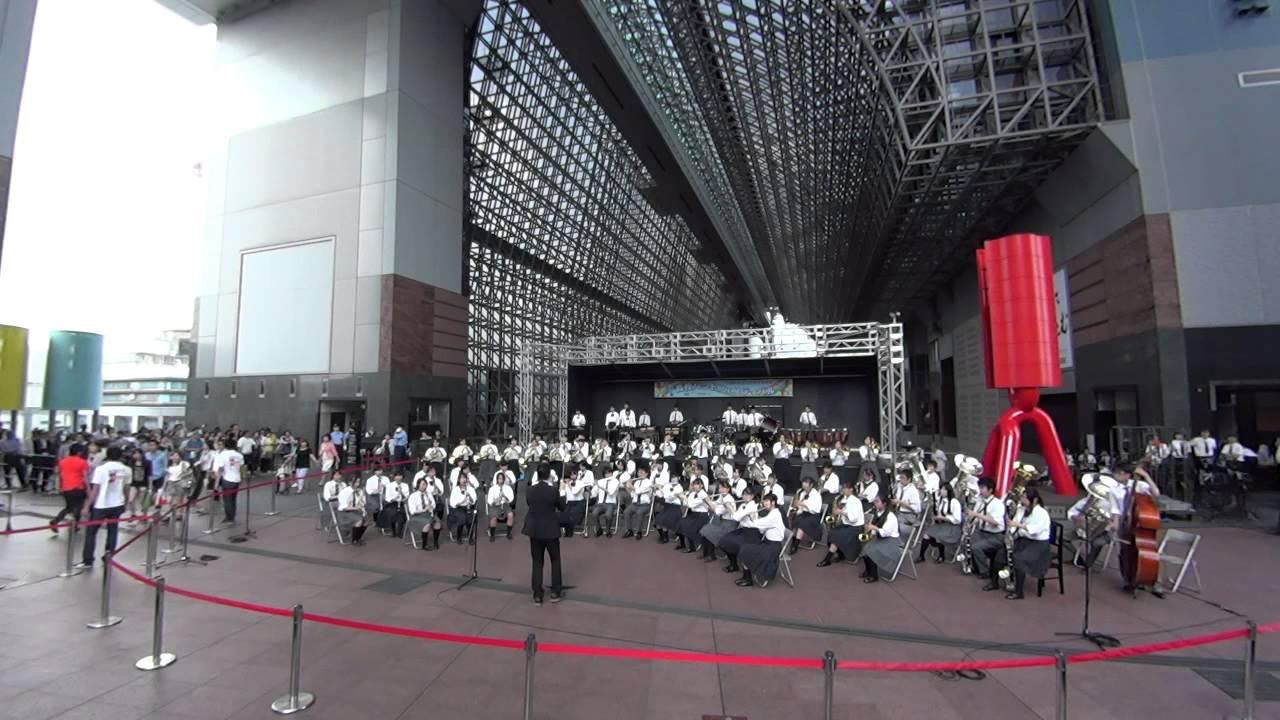 京都府立向陽高校・西乙訓高校 ♫「もののけ姫セレクション♬ ...