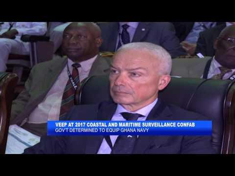 VICE PRESIDENT DR. BAWUMIA AT THE 2017 COASTAL & MARITIME SURVEILLANCE AFRICA CONFE_AKM
