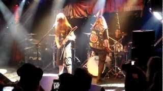 Warcurse - Auftritt beim Fabrik Band Contest am 7.12.12