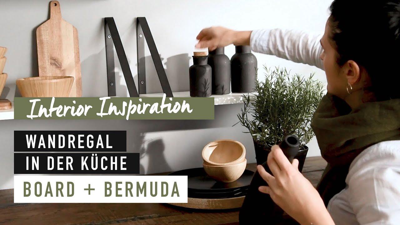 Wandregal BOARD+BERMUDA - WANDBOARD in der Küche