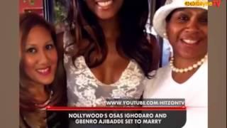 GOLDMYNETV NOLLYWOOD39S OSAS IGHODARO AND GBENRO AJIBADE SET TO MARRY