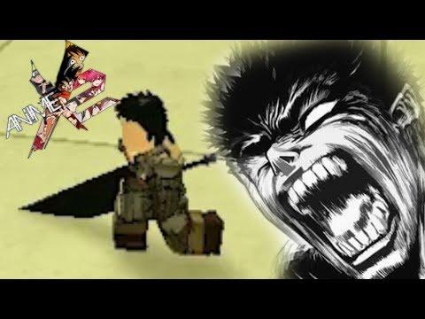 Guts Slashes Anime Cross 2 Ax2 Custom Character Youtube