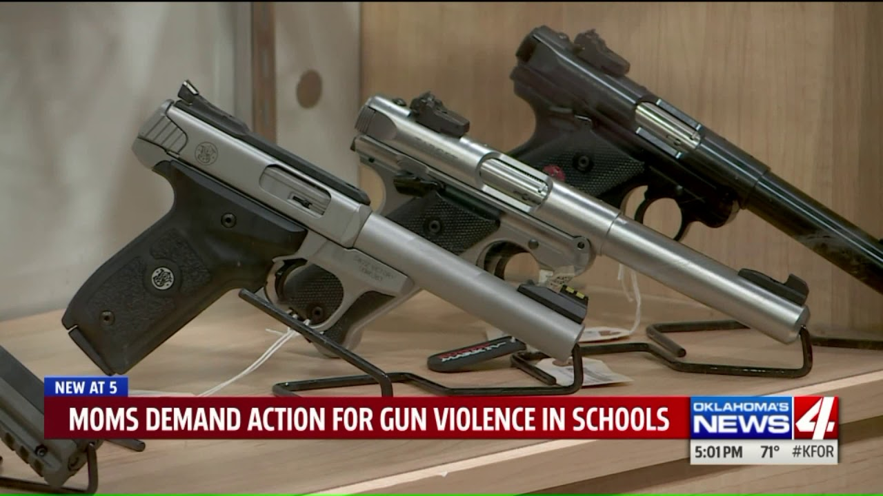 Norman group pushes for tougher gun laws