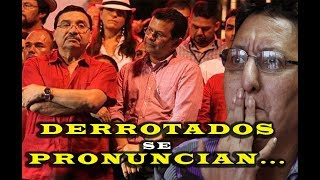 FMLN se pronuncia luego de ser pescosiado en las elecciones