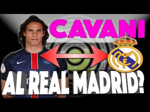 REAL MADRID // NOTICIAS -- EDINSON CAVANI SE ACERCA AL BERNABEU!!!