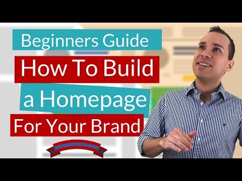 OptimizePress Custom Homepage Tutorial - Build An Influencer Home Page From Scratch (Free Template)