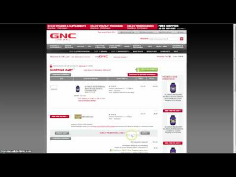 GNC Coupons and Promo Codes
