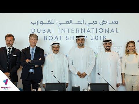 DUBAI INTERNATIONAL BOAT SHOW 2018 PRESS CONFERENCE