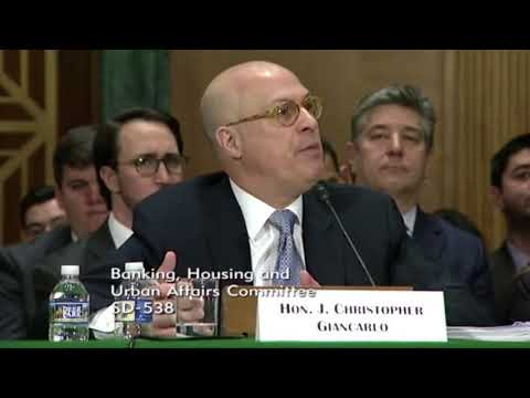 CFTC SEC Most important part of the Hearing Today 2/6/2018