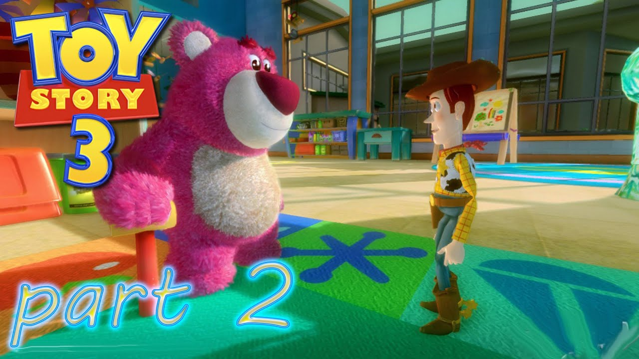 Toy Story 3 Sunnyside Daycare : Toy story the video game playthrough sunnyside daycare