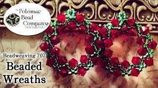 How to Make Beaded Wreaths (Earrings, Pendants, Beads)