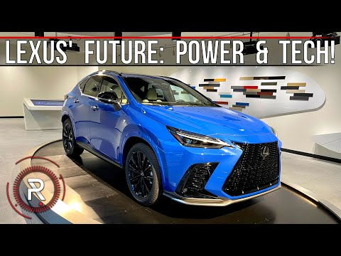 2022 Lexus NX 350/NX 450h+ – The Start Of A New Era For Lexus: Redline: First Look