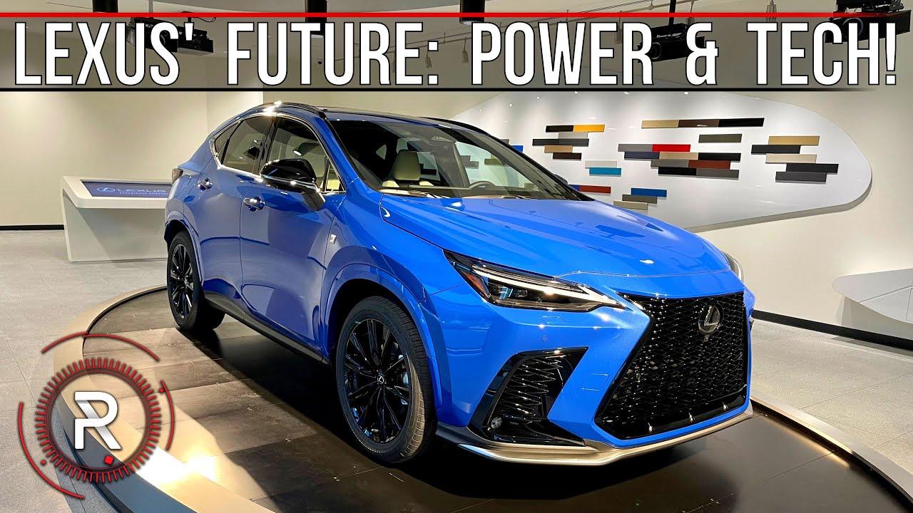Download 2022 Lexus NX 350/NX 450h+ – The Start Of A New Era For Lexus: Redline: First Look
