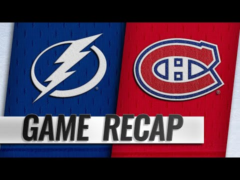 Stamkos, Vasilevskiy lift Lightning past Habs