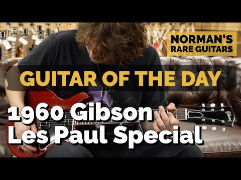 guitar-of-the-day:-1960-gibson-les-paul-special-cherry- -norman's-rare-guitars