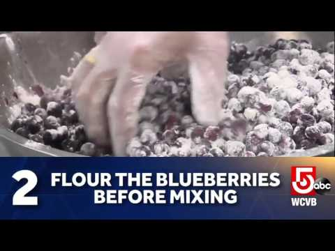 aaaaSecret techniques for the Jordan Marsh blueberry muffin recipe