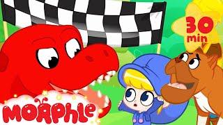 Dinosaur At The Dog Show - My Magic Pet Morphle   Cartoons For Kids   Morphle TV   BRAND NEW