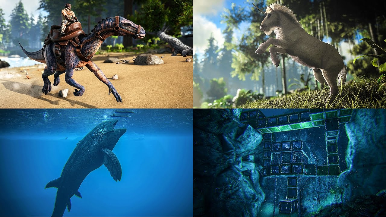 patch 256 equus leedsichthys ichthyornis iguanodon underwater bases more ark news page 4 ark official community forums