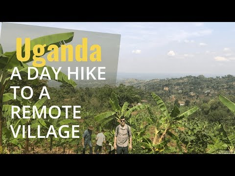 Travel Enrich: Day Hike to a Village in Uganda ❤️