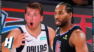 Dallas Mavericks vs Los Angeles Clippers - Full Game 1 Highlights | August 17, 2020 NBA Playoffs
