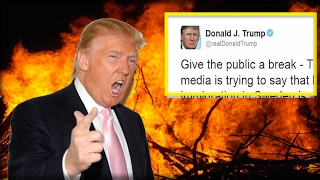HELL YEAH! TRUMP JUST UNLEASHED THE HOUNDS OF HELL ON THE MEDIA IN TWEET THAT WILL DECIMATE THEM