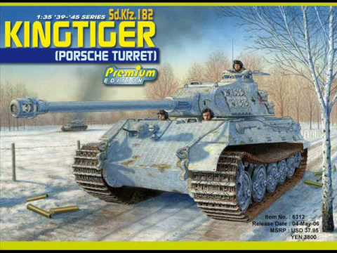King Tiger Porsche Turret 1 35 Scale Youtube