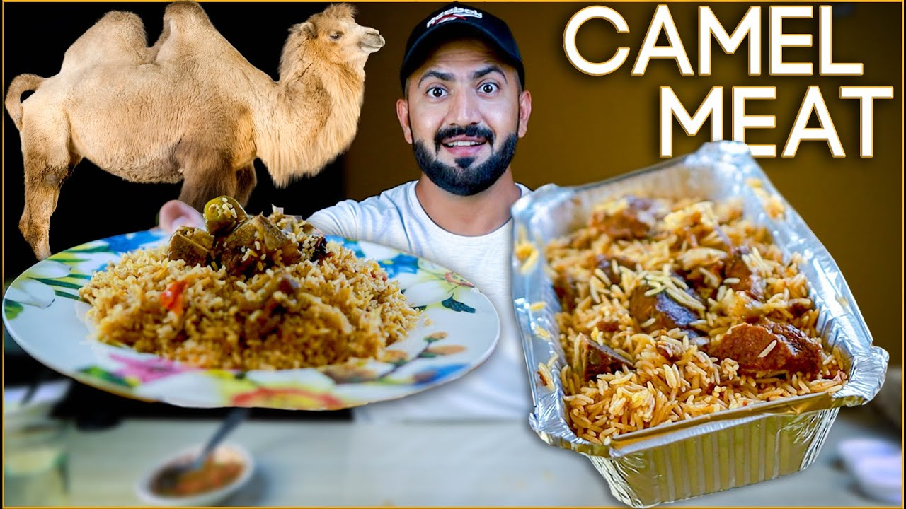 Camel Meat In Makkah, Lets Compare Camel Meat Rice & HomeMade Mutton Polao Makkah, Saudi Arabia Food