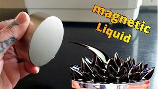 Magnetic Liquid! Experiments With Ferrofluid