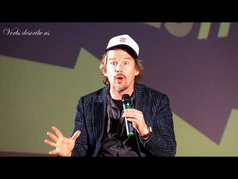 Ethan Hawke about Sidney Lumet and the motivation to write