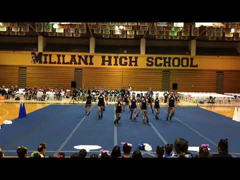 Moanalua High School Cheerleading Preseason 2018