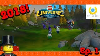 Lego Universe 2018 Lets Play 1 - Darkflame Alpha 2