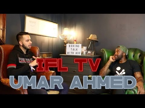 I SAT DOWN WITH UMAR AHMED FROM IFL TV TO DISCUSS ALL THINGS BOXING