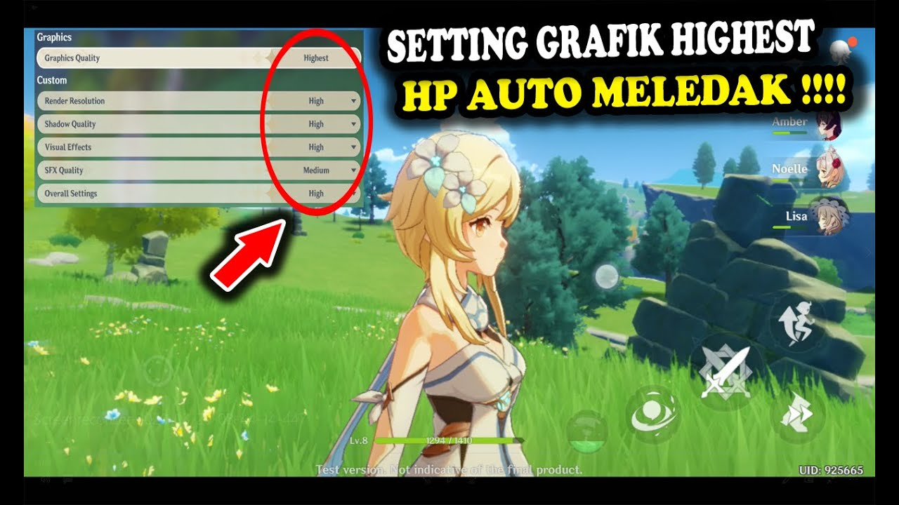 Genshin Impact Full Hd Set Ultra High Rata Kanan Android Hp Auto Meledak Ps4 Pc Ios Walkthrough Youtube