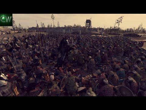 THE MONGOLS HORDES INVADE EASTERN EUROPE! 2v2 Medieval Kingdoms 1212AD Battle (Siege)