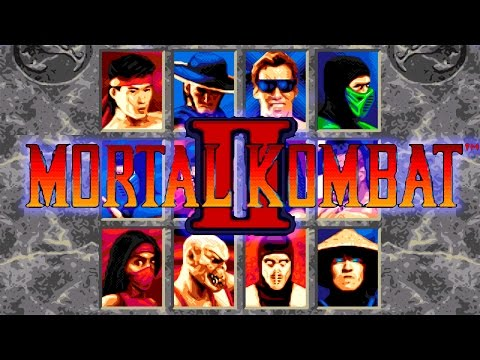 Mortal Kombat II (Sega Mega Drive/Genesis)