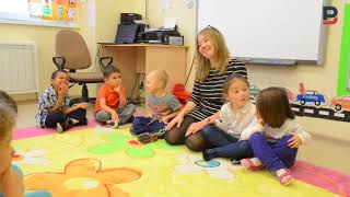Фрагмент урока с младшей группой в игровой форме