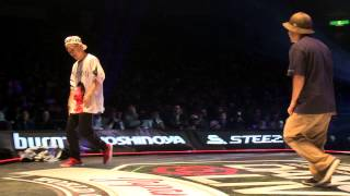 SHUHO(TOKYO FOOTWORKZ) vs HIRO(ALMA) DANCE@LIVE JAPAN FINAL 2014 HOUSE【FINAL】