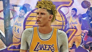 NBA 2K17 MyCAREER LaMelo Ball #5 - HALF COURT SHOT! The New Showtime Lakers!