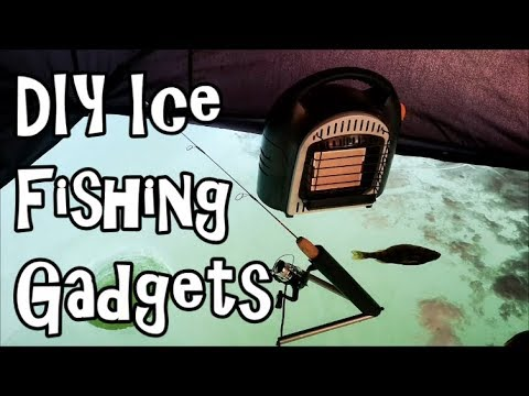 DIY ICE FISHING GADGETS